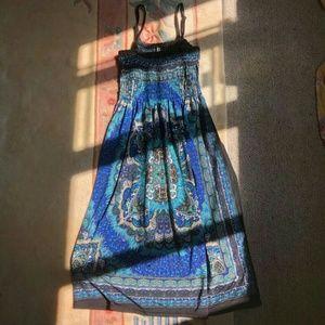 Pretty Patterned Summer Dress